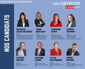 Nos candidats européennes Les Centristes version définitive_0